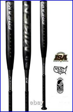 2019 Miken Freak Primo Slowpitch Softball Bat Maxload USSSA MPRIMU 34 26oz