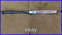 2021 Worth KReCHeR Ryan Harvey USA ASA 34 27 OZ SlowPitch Softball Bat WRH21A-3