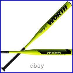2021 Worth Mach 1 XXL 13.5 34/26oz USSSA Slowpitch Softball Bat WM21MU