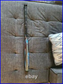 25 oz monsta slowpitch bats, torch black and blue clack addict New in wrapper