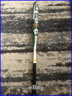 DeMarini Deuce Slowpitch Softball Bat Dual Stamps ASA/USSSA 34/27 Rare Quad Wall