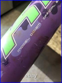 Miken Maniac ASA/USSSA Slow Pitch Bat 2019 Purple 34 27 oz