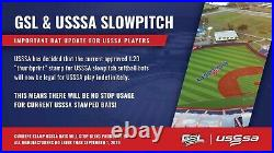 Miken Psycho USSSA bpf 1.20 34 26 oz softball bat Maxload MPSYCO slowpitch 2019