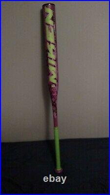Miken maniac 26 oz 34 usssa, asa slowpitch softball bat 100 percent alloy