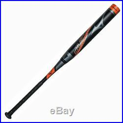 Mizuno Crush End Loaded 340469 Black/Orange 34 26 oz -7 New Slowpitch Bat