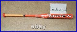 NEW 2019 Miken Super Freak Highlighter 27oz. MHS12U USSSA Slowpitch Softball Bat