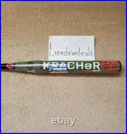 NEW 2020 Worth Krecher Ryan Harvey XL 25oz. WRH20A ASA Slowpitch Softball Bat