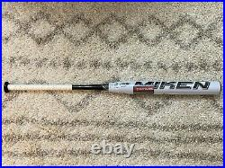 NEW in WRAP! MIKEN DC41 Supermax USSSA Slowpitch Softball Bat 34/26oz NIW White