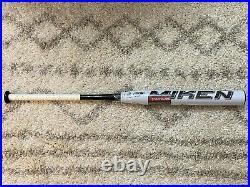 NEW in WRAP! MIKEN DC41 Supermax USSSA Slowpitch Softball Bat 34/28oz NIW White