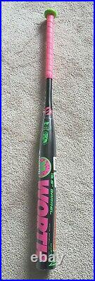 NIW Worth Legit XL Reload Watermelon Slowpitch Bat 25.5oz USSSA FREE US SHIPPING