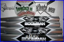 New Boombah Senior Softball Bat 34 27 NIW Non ASA BBSSK1 Silver SP Slowpitch