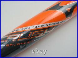 New Mizuno CRUSH Balanced USSSA 34 25oz 340538 Slowpitch Softball Bat