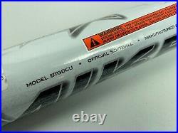 New! White Miken DC41 Supermax USSSA Slowpitch Softball Bat 26oz BTGDCU 34 NIW