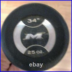 Nice! Miken Freak Black Slowpitch Softball Bat Usssa Blckbu Balanced Rare 34/25