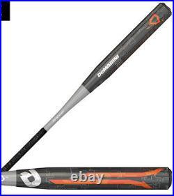 Niw 2018 Demarini Raw Steel 26 Oz Slowpitch Softball Bat Asa Usssa Singlewall
