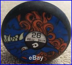 Original 2013 Demarini Fu Dawg Asa Slowpitch Softball Bat 26 Oz The One-13 Isf
