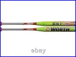 RARE NIW 2019 Worth EST Comp XL Slowpitch Softball Bat End Loaded USSSA WE19MU