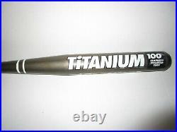 Rare Used Worth Titanium Ti51 34/27 Slowpitch Bat