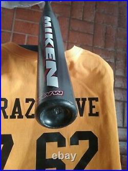 The LEGEND 2002 OG Miken ULTRA MSUM 27/34 Slowpitch Softball bat. BANNED
