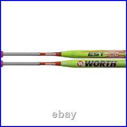 Worth Est Comp XL Slowpitch Softball Bat End Loaded Usssa We19mu 34/27.5