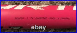 Worth Slow Pitch Softball Bat SBJH2U 26.5oz 34in Jeff Hall Reload USSSA NSA