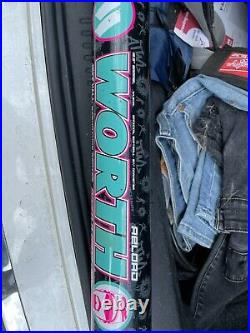Worth legit All the way Live Jeff Hall slowpitch softball bat